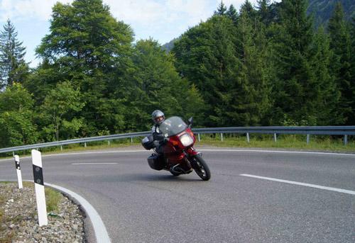 Auffahrt zum Riedbergpass