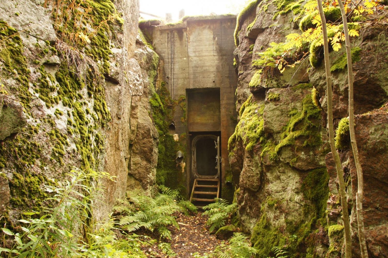 Dieser Bunker wurde als Hospitalbunker angelegt