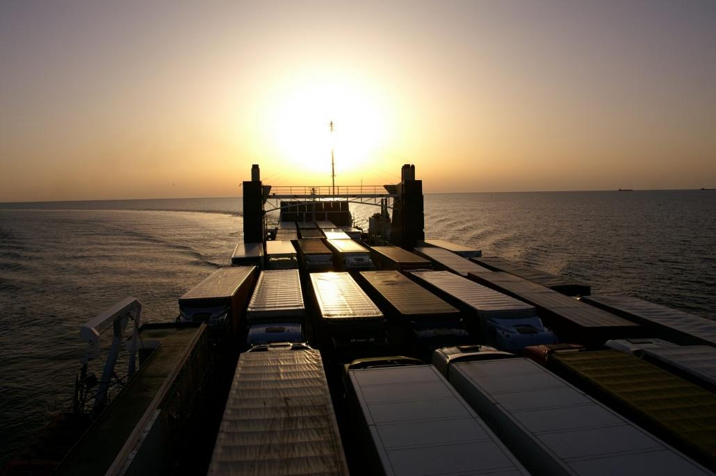 Per Schiff ist das Baltikum recht einfach zu erreichen
